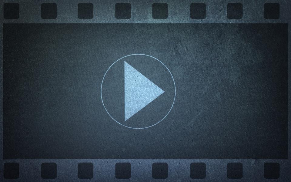 Vlog banner, video blogging background